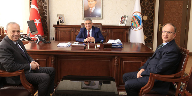SÜTAŞ Yönetiminden Vali Pekmez'e ziyaret