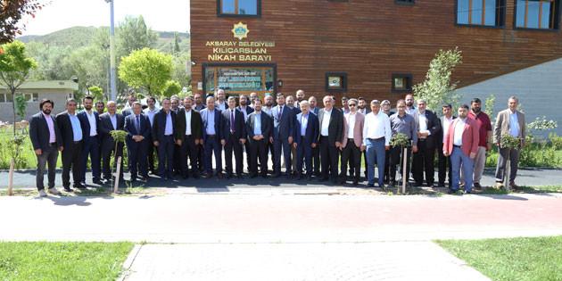 AK Parti teşkilatı STK temsilcileri ile buluştu
