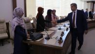 Rektör Şahin istişare toplantısında öğrencilerle buluştu