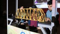 ASÜ'de Makarna Köprü Yarışması yapıldı