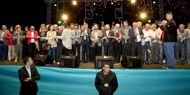 Recep Tayyip Erdoğan Gençlik Parkı Fettah Can konseri ile açıldı