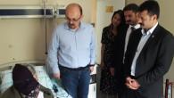CHP heyeti hastaları ve yakınlarını ziyaret edip bayramlaştı