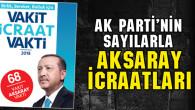 İşte Ak Parti'nin Aksaray'a yaptığı icraatlar