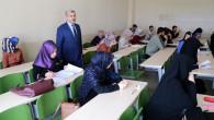 Öğrenciler final sınavlarında ter döküyor