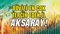 Aksaray dövizde Türkiye 1'incisi!