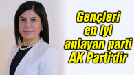 İnceöz: Gençleri en iyi anlayan parti AK Parti'dir