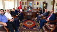 MHP Milletvekili adaylarından Başkan Yazgı'ya ziyaret