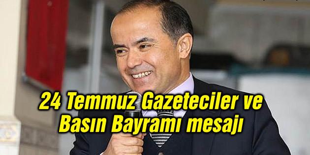 Aydoğdu'dan 24 Temmuz Gazeteciler ve Basın Bayramı mesajı