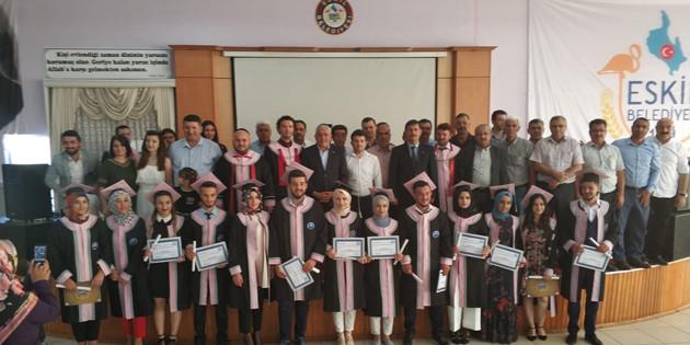 Eskil MYO ilk mezunlarını verdi