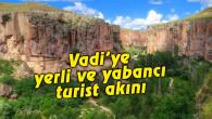 Ihlara Vadisi'ne yerli ve yabancı turist akını