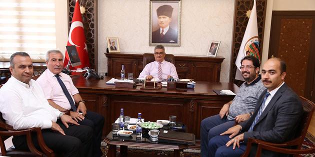 Organize Sanayi Bölgesi (OSB) Yönetim Kurulu Toplantısı yapıldı