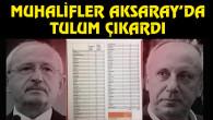 CHP'li muhalifler Aksaray'da tulum çıkardı!