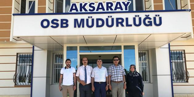 Ak Parti İl Başkanı Altınsoy, OSB'yi ziyaret etti