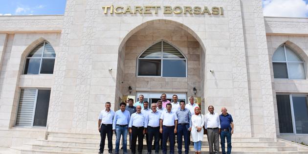 İl Genel Meclis Üyeleri Borsa'yı ziyaret etti