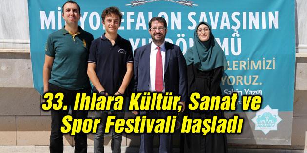 33. Ihlara Kültür, Sanat ve Spor Festivali başladı