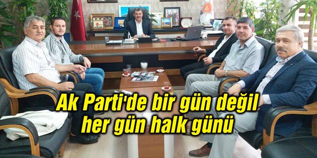 Altınsoy: Ak Parti'de bir gün değil her gün halk günü
