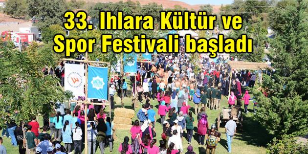 33. Ihlara Kültür ve Spor Festivali başladı
