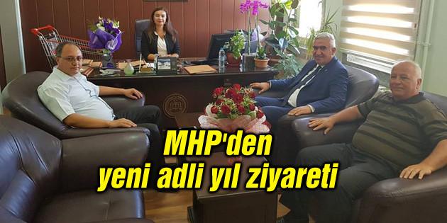 MHP'den yeni adli yıl ziyareti