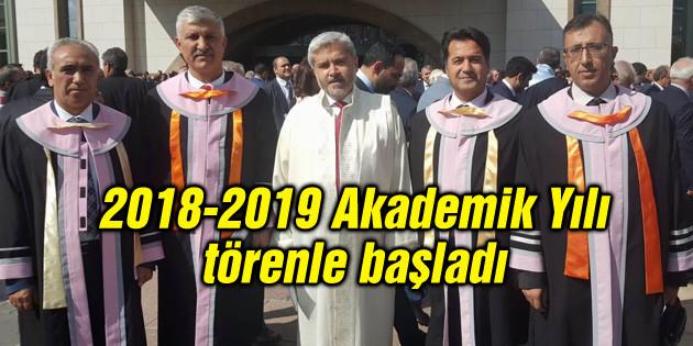 2018-2019 Akademik Yılı törenle başladı