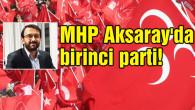ORC sahibi Murat Pösteki'ye göre MHP Aksaray'da birinci parti