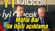 İYİ Parti'den Müftü Bal ile ilgili açıklama