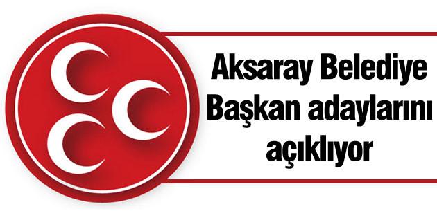 MHP, Belediye Başkan adaylarını açıklıyor