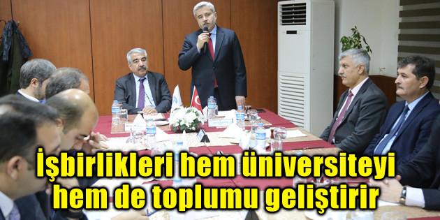 İşbirlikleri hem üniversiteyi hem de toplumu geliştirir