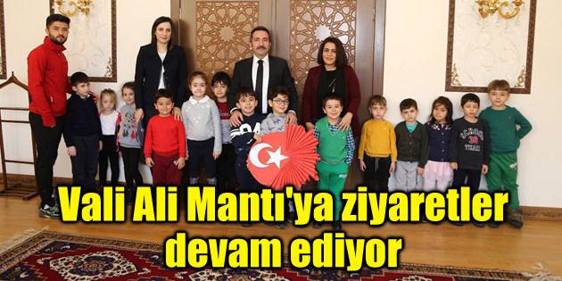 Vali Ali Mantı'ya ziyaretler devam ediyor