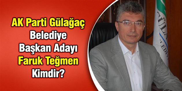AK Parti Gülağaç Belediye Başkan Adayı Faruk Teğmen Kimdir?