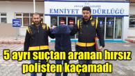 5 ayrı hırsızlık olayından aranan şahıs tutuklandı