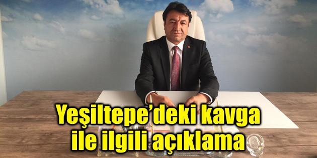 Yeşiltepe'deki kavga ile ilgili açıklama!