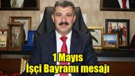 Altınsoy'dan 1 Mayıs İşçi Bayramı mesajı