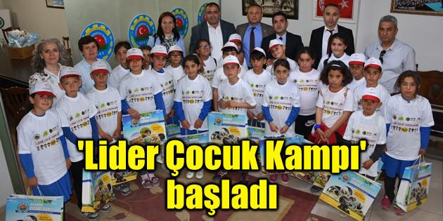 Aksaray'da 'Lider Çocuk Kampı' başladı