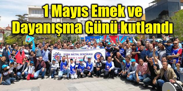Aksaray'da 1 Mayıs Emek ve Dayanışma Günü coşkusu