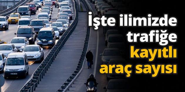 Aksaray'da araç sayısı hızla artıyor