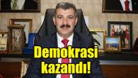 Ak Parti İl Başkanı Altınsoy: Demokrasi kazandı!