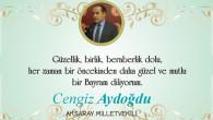 Milletvekili Aydoğdu'nun Ramazan Bayramı mesajı