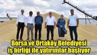 Borsa ve Ortaköy Belediyesi iş birliği ile yatırımlar başlıyor