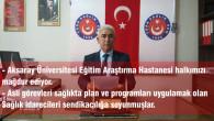 Aksaray Üniversitesi Eğitim Araştırma Hastanesi halkımızı mağdur ediyor