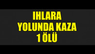 Aksaray'da trafik kazası: 1 ölü