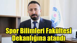 Spor Bilimleri Fakültesi Dekanlığına Prof. Dr. Hüseyin Ünlü atandı
