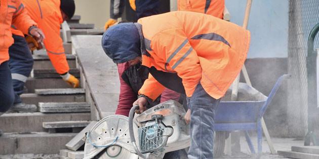 Aksaray Belediyesi engelleri ortadan kaldırmak için çalışıyor