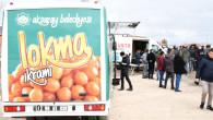 Aksaray Belediyesi'nden mobil lokma aracı