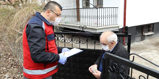 Yaşlılar ve kronik hastalığı olanların ihtiyaçları karşılanıyor
