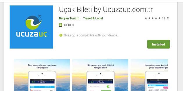 Uçak Biletinizi Ucuzauc.com'dan alın puan toplayın