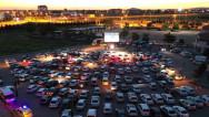 Aksaray'da Arabalı Sinema etkinliği
