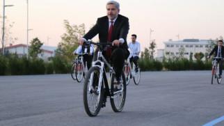 Rektör Şahin: Yeni normal dönemin ulaşım aracı; bisiklet