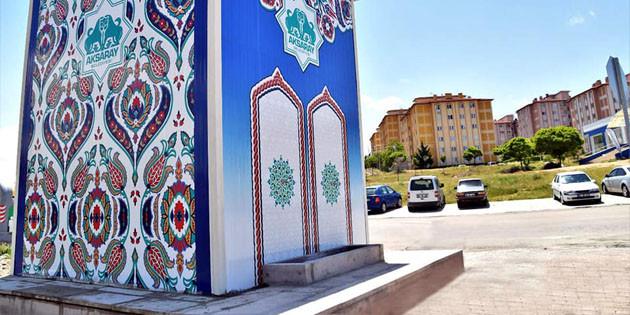 Aksaray Belediyesi'nden mahallelere tatlı su hizmeti