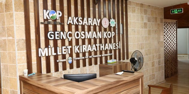 Aksaray'ın ilk Millet Kıraathanesi'nde sona gelindi
