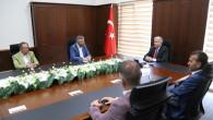 ÖNDER Genel Başkanı'ndan Rektör Şahin'e ziyaret